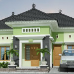 Warna Cat Rumah Minimalis Modern Type 60