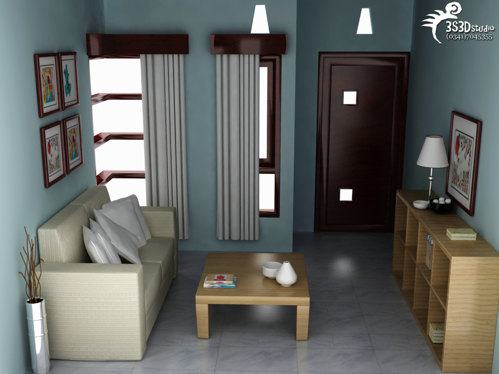 Design Interior Ruang Tamu